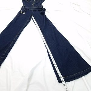 a8c6663cbce Baby Phat Pants - Baby Phat Button Up Dark Denim Jumpsuit size 5